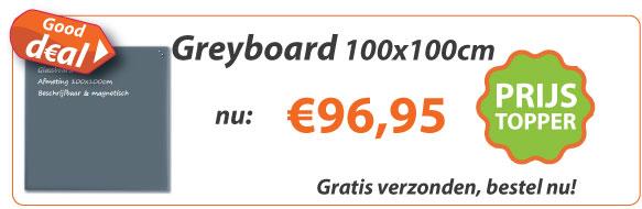 Greyboard 100x100cm