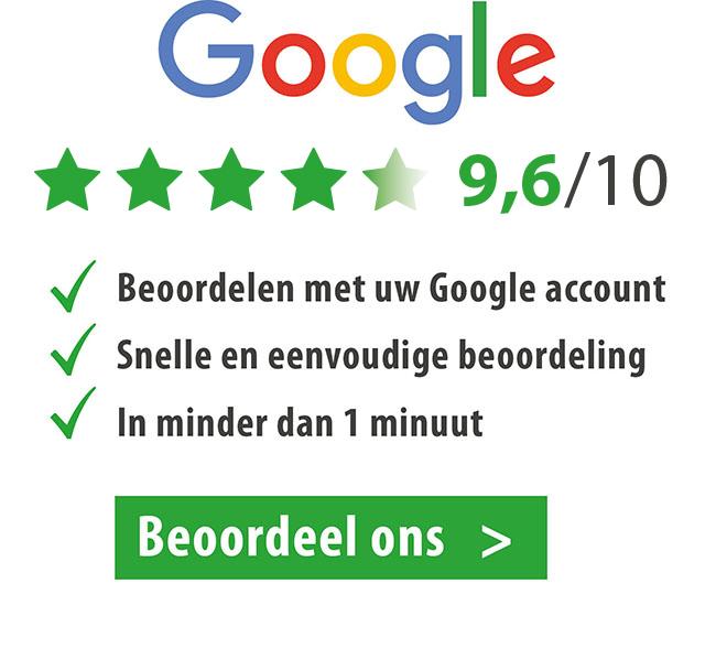 Beoordeel ons op Google